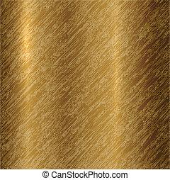 абстрактные, вектор, бронза, задний план, металлический