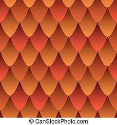 абстрактные, дракон, огонь, кожа, кожа, красочный, градиент, effect., шаблон, бесшовный, красный, чешуйчатый, оранжевый, текстура, color., стиль