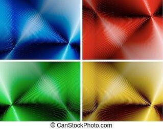 абстрактные, задавать, backgrounds, многоцветный