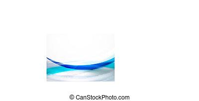 абстрактные, задний план, волна