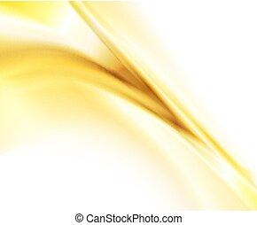 абстрактные, задний план, золото
