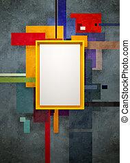 абстрактные, изобразительное искусство, музей, состав