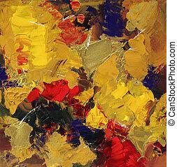 абстрактные, изобразительное искусство