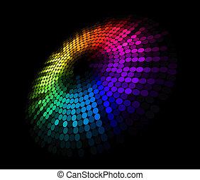 абстрактные, круг