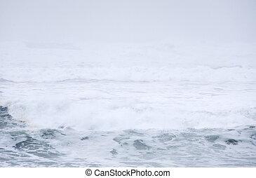 абстрактные, тихий океан