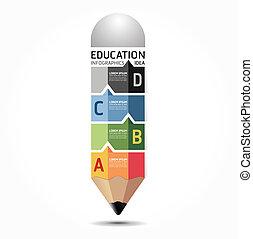 абстрактные, шаблон, нумерованный, используемый, lines, infographics, дизайн, /, вектор, веб-сайт, вырезать, карандаш, banners, infographic, горизонтальный, графический, минимальный, стиль, быть, макет, или, можно
