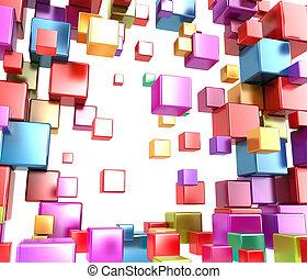 абстрактные, boxes, .background