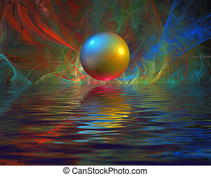 абстрактные, fractals