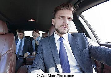 автомобиль, роскошь, люди, бизнес, группа
