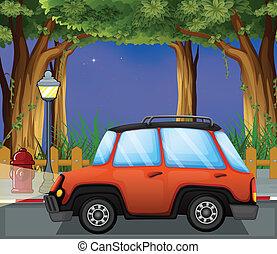 автомобиль, улица