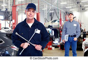 автомобиль, mechanic.