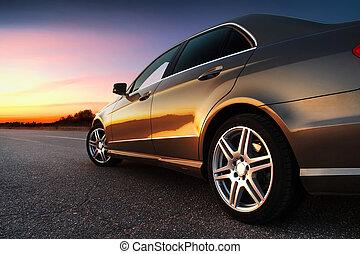 автомобиль, rear-side, посмотреть