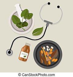 альтернатива, натуральный, лекарственное средство, традиционный