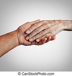 альцгеймер, пациент, забота