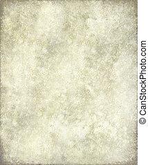 античный, кожа, рамка, серый, пергамент, или