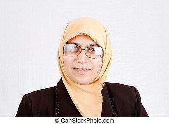 арабский, мусульманка, женщина