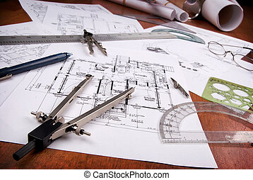 архитектор, инструменты