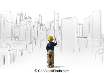 архитектор, молодой, амбиция