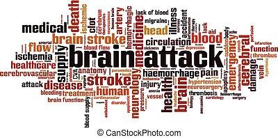 атака мозга, слово, облако