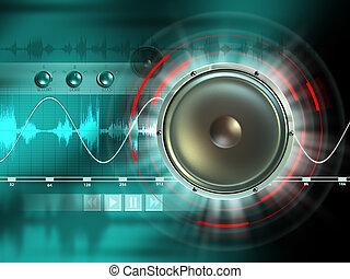 аудио, цифровой