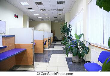 банка, офис