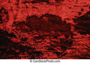 бархат, красный
