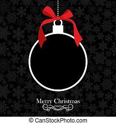 безделушка, рождество, веселый, задний план