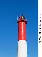 белый, маяк, красный