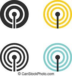 беспроводной, подключение, icons