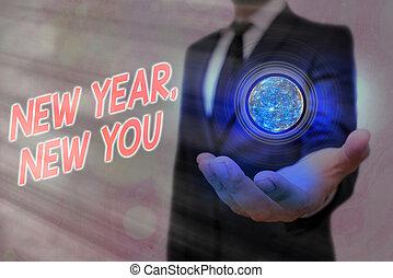 бизнес, лучше, меблированный, nasa., приход, концепция, январь, это, individualality, индивидуальный, слово, новый, письмо, you., образ, elements, год, изменения, текст