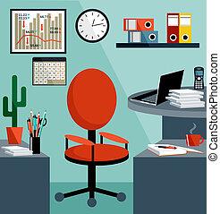бизнес, оборудование, objects., офис, things, рабочее место
