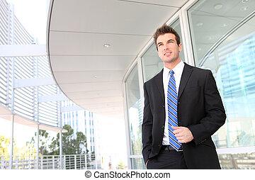 бизнес, офис, человек