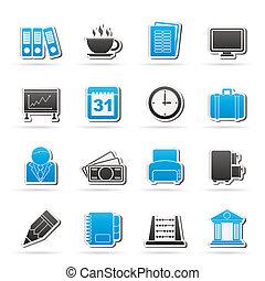 бизнес, офис, icons