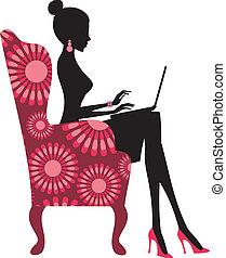 блоггер, мода