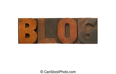 блог, дерево, тип