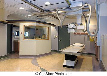 больница, комната, рентгеновский