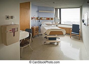 больница, комната