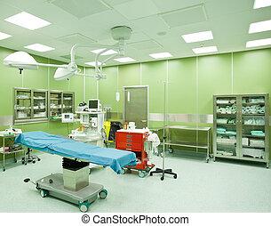 больница, никто, операционная, комната