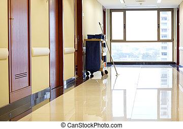 больница, пустой, коридор