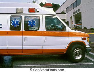 больница, ambulances