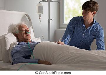 больной, terminally, человек