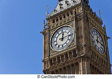 большой, англия, бен, лондон