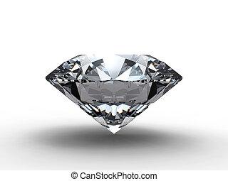бриллиант, отражение