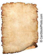 бумага, пергамент, задний план
