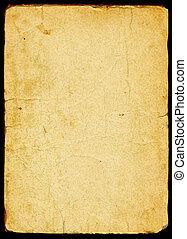 бумага, старый, textured