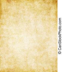 великий, старый, текстура, бумага, задний план, пергамент