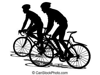велосипед, спорт