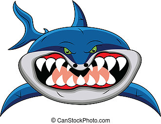 веселая, акула, мультфильм