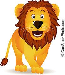 веселая, лев, мультфильм