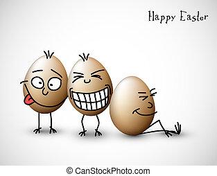 веселая, eggs, пасха